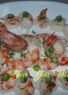 「桂冠夏至涼拌」涼筍明蝦沙拉