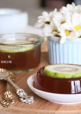 冬瓜紅茶凍