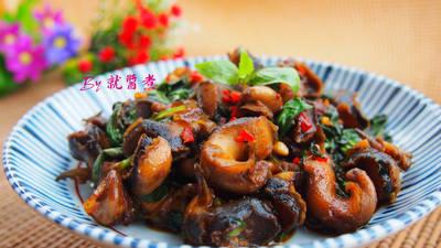 塔香咖哩鳳螺肉