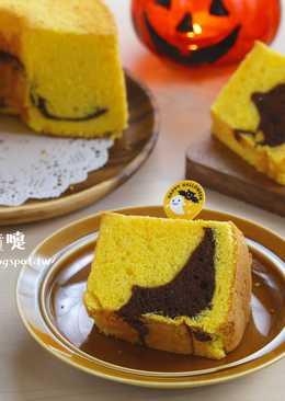 萬聖節南瓜戚風蛋糕