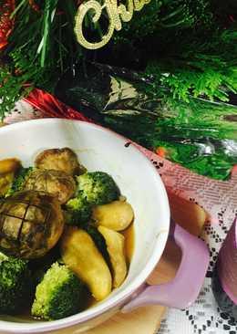 【御釀燒烤滋味】綠花椰烤菇