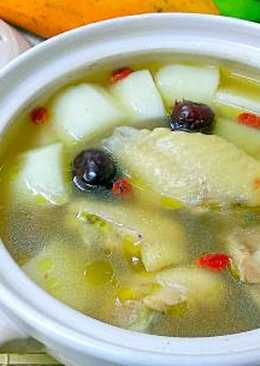 山藥紅棗雞湯
