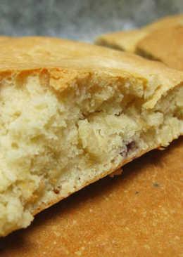 [烤箱] 藍莓起司麵包 (免揉免發酵)