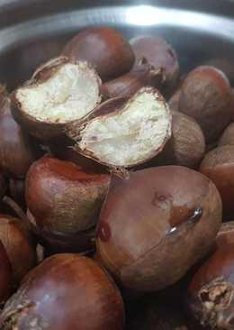 大同電鍋料理🤗水煮新鮮生栗子