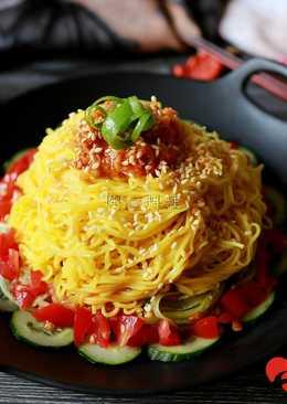 影音食譜 韓式肉醬麵ღ開心料理