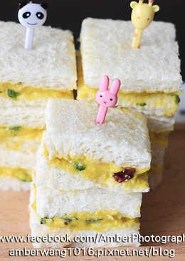 南瓜泥沙拉三明治