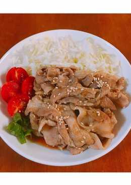 10分鐘出好菜 - 薑汁燒肉 (新手必學)