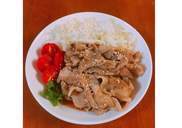Fats 全联出好菜 发表的 10分钟出好菜 - 姜汁烧肉 (新手必学)