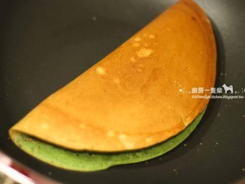雙色花生芝麻麥煎食譜步驟8照片