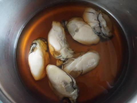 蠔炊飯食譜步驟2照片