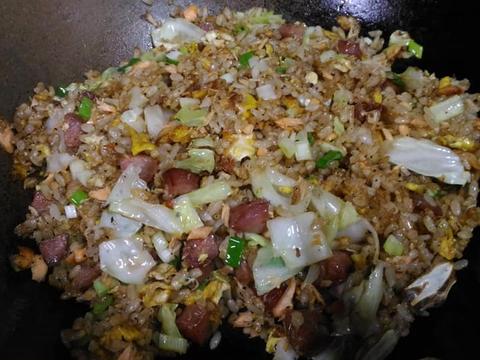 海陸雙棲蛋炒飯食譜步驟5照片
