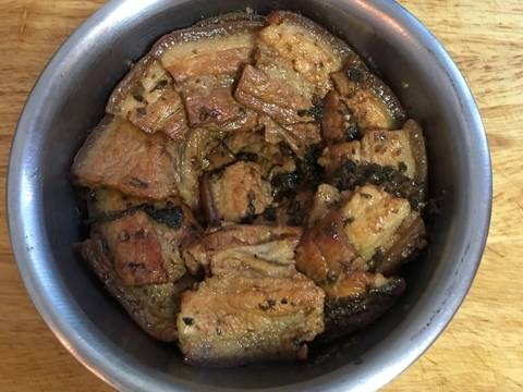 梅干扣肉食譜步驟6照片