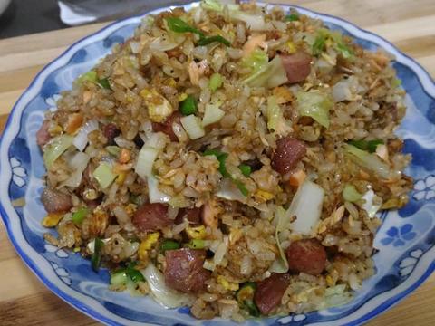 海陸雙棲蛋炒飯食譜步驟6照片