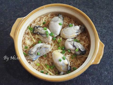 蠔炊飯食譜步驟6照片