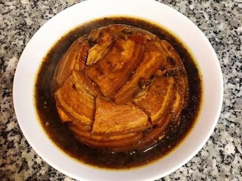 梅干扣肉食譜步驟9照片