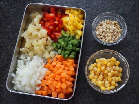 素炒飯食譜步驟1照片