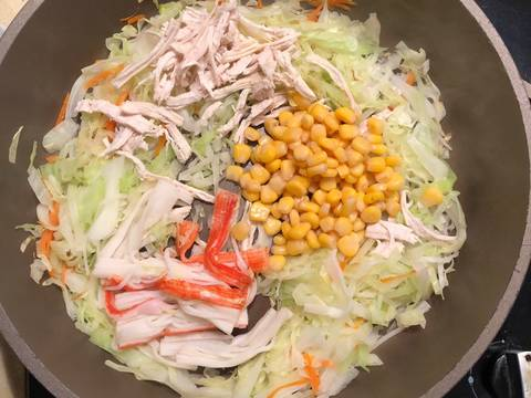 日式炒麵大阪燒食譜步驟2照片