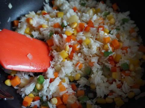 素炒飯食譜步驟4照片