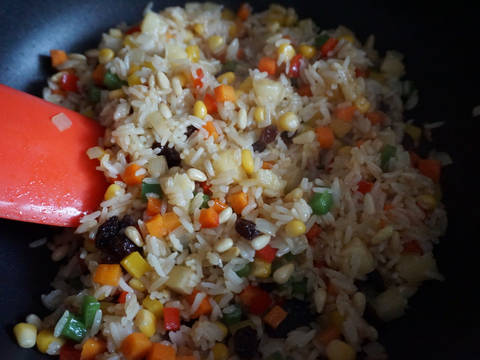 素炒飯食譜步驟5照片