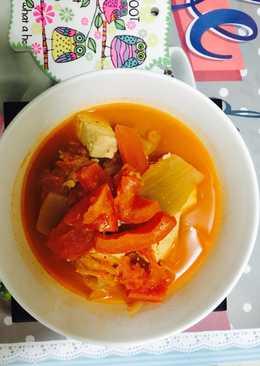 토마토김치수프