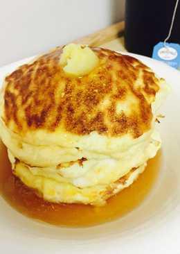 리코타 치즈 팬케이크
