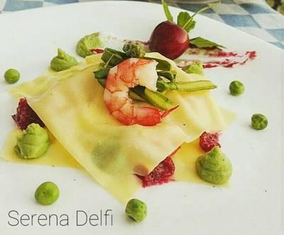 Raviolo aperto! #ciaksicucina #nataleconciak #cookpad