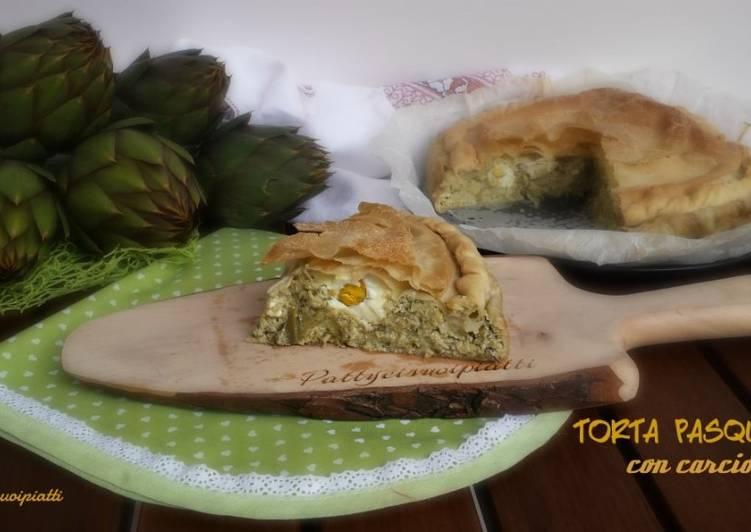 Ricetta Torta Pasqualina Con Carciofi Di Patrizia Finetti