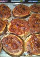 Fette di melanzana alla parmigiana 😋