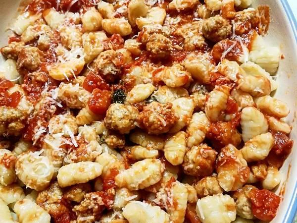 Malloreddus con polpettine di salsiccia sarda #ilboccatv