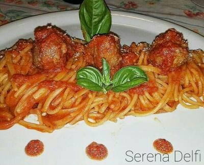 Spaghetti with meatballs #ciaksicucina #nataleconciak #cookpad