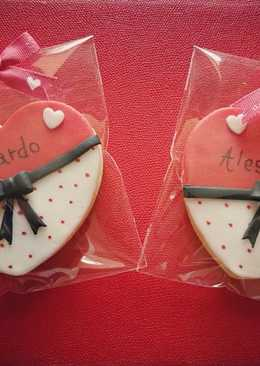 Biscottini Segnaposto San Valentino