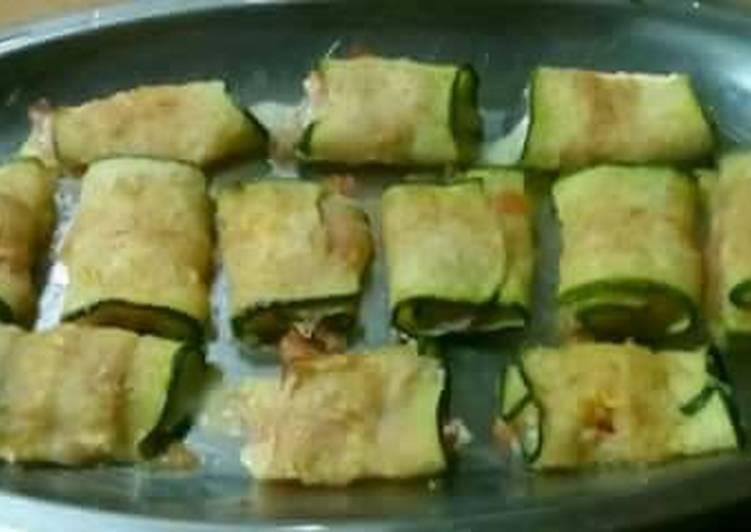 Involtini di zucchine #ciaksicucina #cookpad #nataleconciak