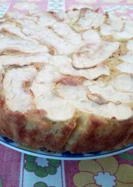 Picnic con torta di mele