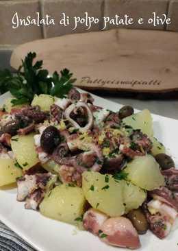 Insalata di polpo patate e olive