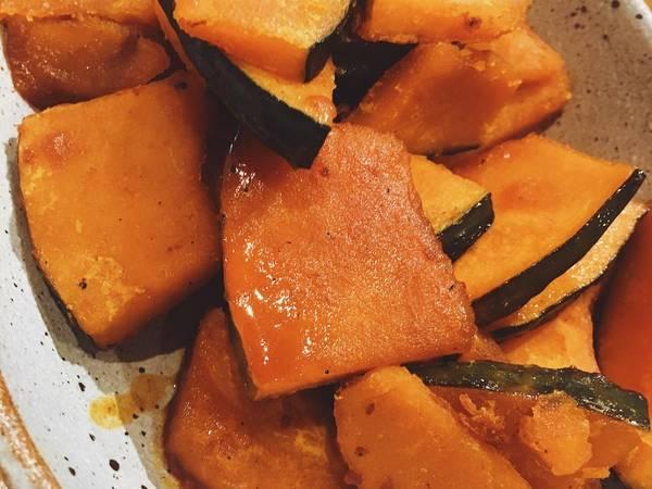 Zucca alla salsa di soia
