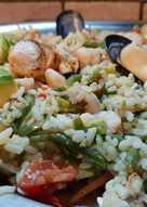 Insalata di riso mare e monti con un tocco esotico