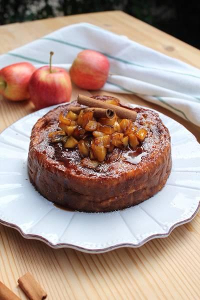 Torta sfogliata di mele