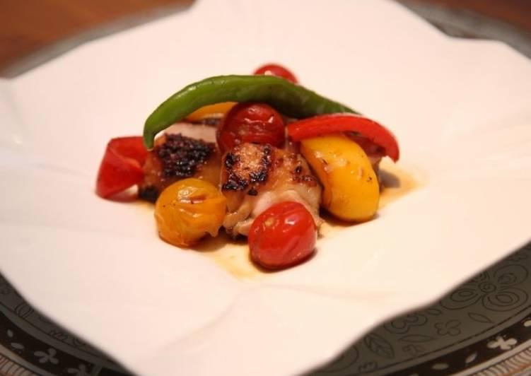 鶏の照り焼き 🐓☀🥩 Pollo in salsa teriyaki