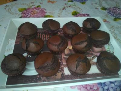 Muffin al cioccolato Extra fondente 😋😋