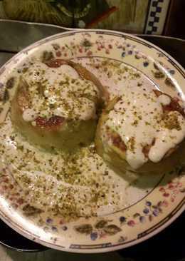 Tortino di broccoli in salsa di soia