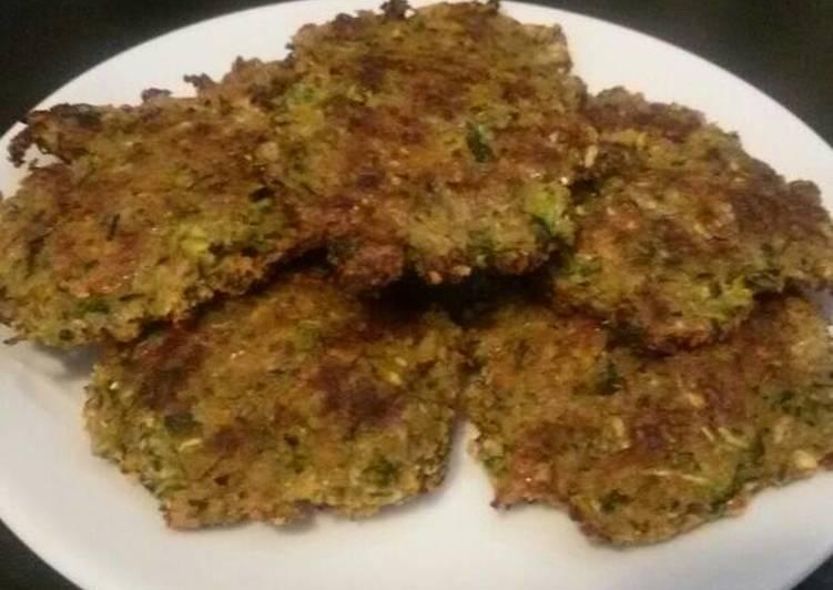 Amato Ricetta Frittelle di zucchine al forno senza uova di Federica  ER72