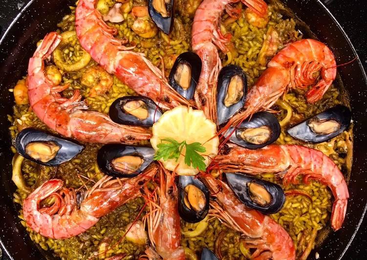 Ricetta Paella De Marisco Di Kitsune85 Cookpad