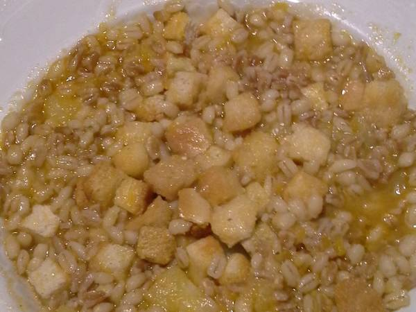 Una zuppa di cereali speciale