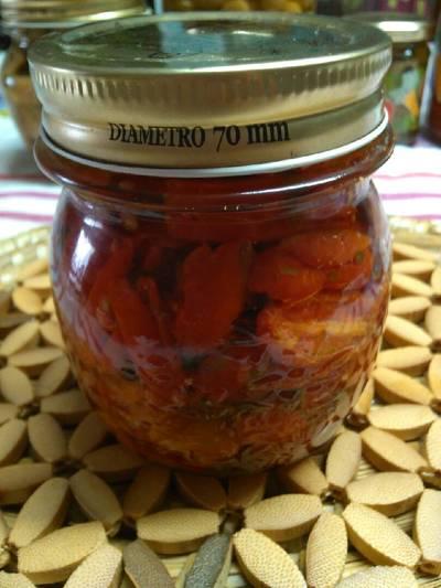 Pomodori datterini sott'olio