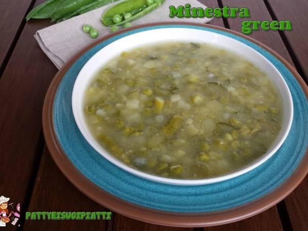 Minestra green depurativa