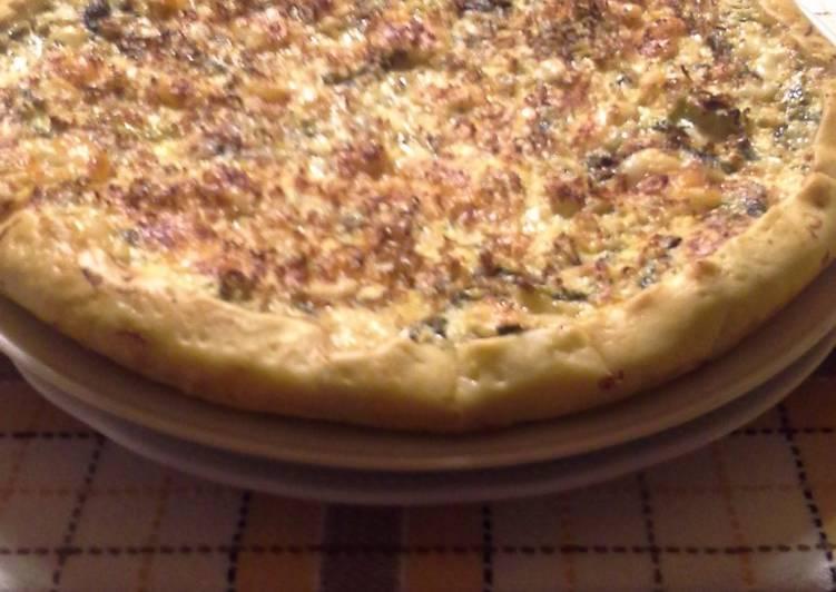 Torta salata con broccoletto #ciaksicucina#cookpad#