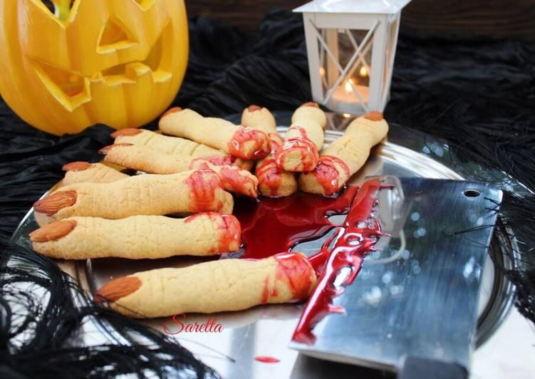 Ricetta Dita di strega per Halloween di Cucina con Saretta - Cookpad