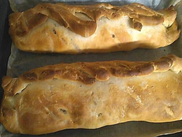 Polpettone avvolto in un impasto per pane pizza 😉