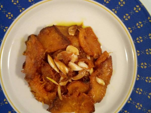 Zucca all'agrodolce