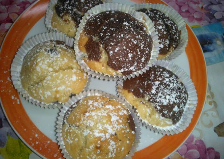 Muffin yogurt e cioccolato 😋